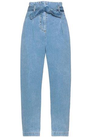 WANDERING Women Trousers - DENIM - Denim trousers