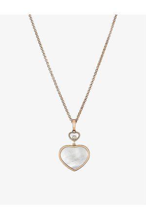 Chopard Women Necklaces - Happy Hearts 18ct rose