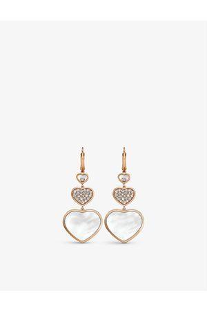 Chopard Women Earrings - Happy Hearts 18ct rose