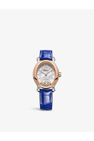 Chopard Women Watches - 278602-6001 Happy Sport 18ct rose-gold