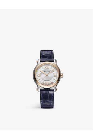 Chopard Women Watches - Happy Sport 278608-6001 18ct rose-gold and stainless steel automatic watch