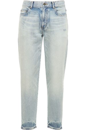 Saint Laurent Straight Fit Denim Jeans