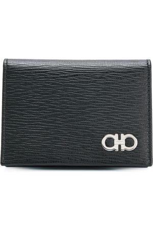 Salvatore Ferragamo Men Purses & Wallets - Double Gancio foldover wallet
