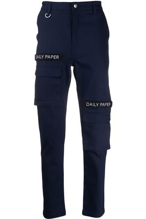 Daily paper Trousers - Logo patch cargo pants