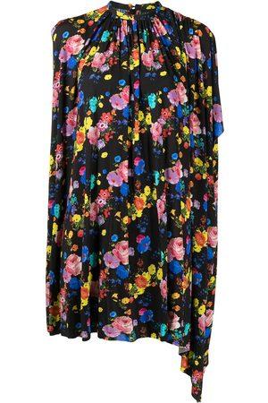 COOL T.M Women Printed Dresses - Floral-print sleeveless mini dress