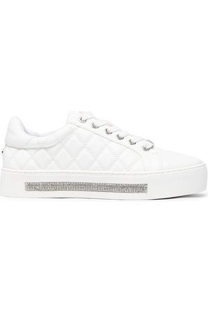 Carvela Women Trainers - Jeo quilted embellished sneakers