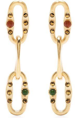 Gas Bijoux Gem-embellished Gabriel earrings