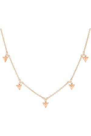 Alessa W Women Necklaces - 18kt rose gold Eruption Rising diamond choker