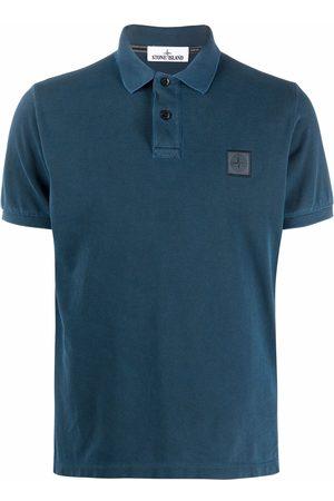 Stone Island Men Polo Shirts - Logo-patch polo shirt