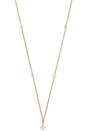White Bird Women Necklaces - 18kt yellow diamond necklace