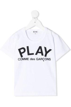 Comme des Garçons Logo-print cotton T-shirt