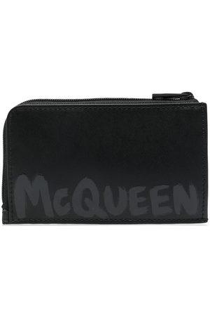 Alexander McQueen Men Purses & Wallets - Logo-print wallet