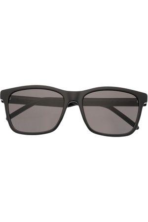 Saint Laurent Square-frame logo-plaque sunglasses
