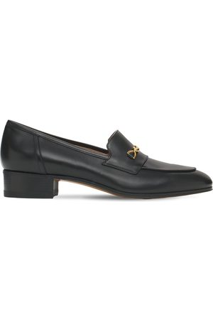 Gucci 30mm Ed Leather Loafers W/ Horsebit
