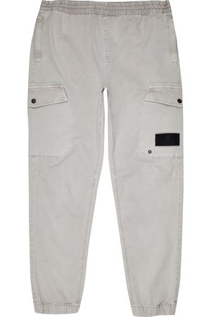 River Island Men Cargo Trousers - Mens washed cargo trousers