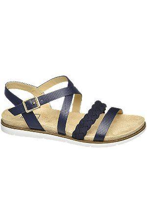 Easy Street Women Sandals - Navy Sandals