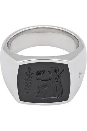 TOM WOOD Athena onyx-embellished ring - Metallic