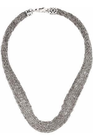 EMANUELE BICOCCHI Crocheted chain necklace