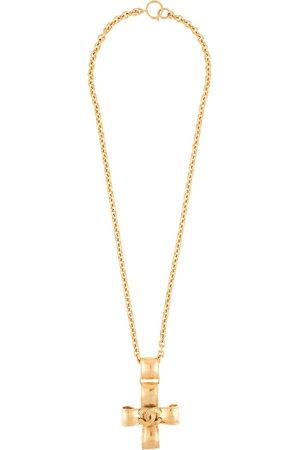 CHANEL Women Necklaces - 1994 CC cross pendant necklace