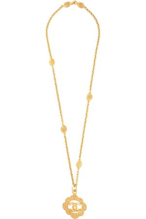 Chanel Pre-Owned 1995 CC pendant necklace