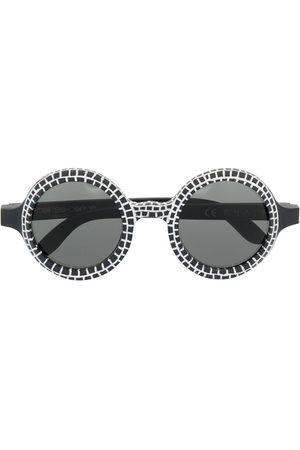 10 CORSO COMO Women Sunglasses - Round-frame wood sunglasses