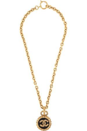 CHANEL Women Necklaces - 1993 CC charm chain necklace