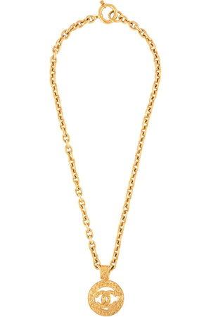 CHANEL 1994 CC medallion chain necklace