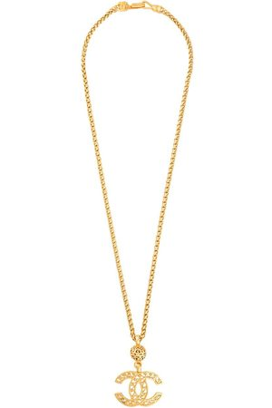 CHANEL 1995 CC pendant chain necklace