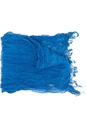 Issey Miyake 2000s creased-effect scarf