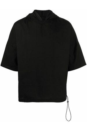 Alchemy Short-sleeved cotton hoodie
