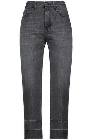 Palm Angels Women Trousers - DENIM - Denim trousers