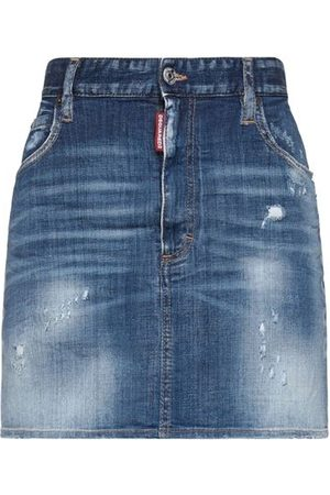 Dsquared2 Women Denim Skirts - DENIM - Denim skirts