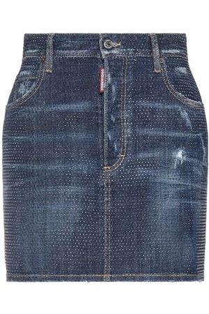 Dsquared2 Women Denim Skirts - DENIM - Denim skirts