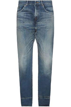 Saint Laurent Men Trousers - DENIM - Denim trousers