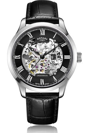 Rotary Watches Rotary Greenwich Automatic Stainless Steel Watch