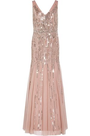 Adrianna Papell Women Evening Dresses - Beaded Gown With Godets
