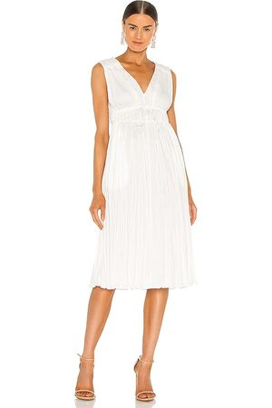 REBECCA TAYLOR Sleeveless Broomstick Pleating Dress in . Size 2/S, 4/M, 6/L.