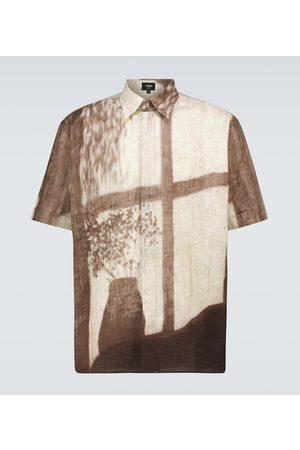 Fendi Printed short-sleeved shirt