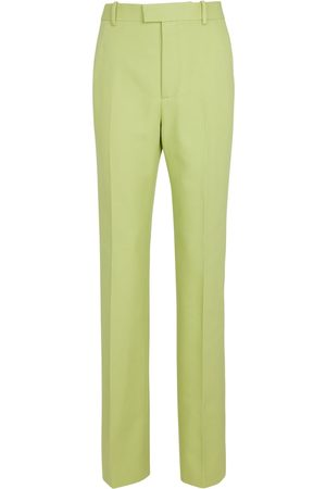 Bottega Veneta High-rise cotton pants