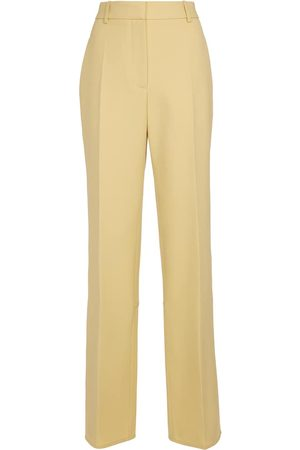 Victoria Beckham High-rise straight wool pants