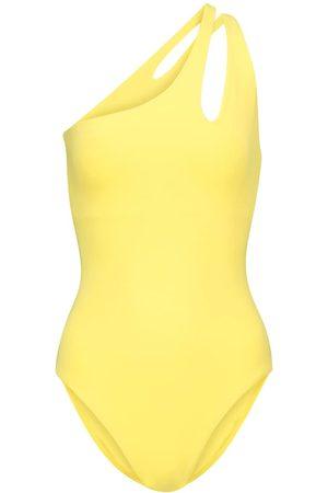 Melissa Odabash Exclusive to Mytheresa – Jamaica one-shoulder swimsuit