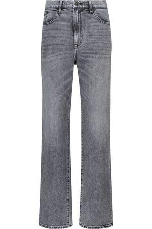 SLVRLAKE London high-rise straight-leg jeans