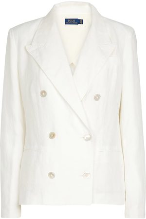 Polo Ralph Lauren Double-breasted linen blazer