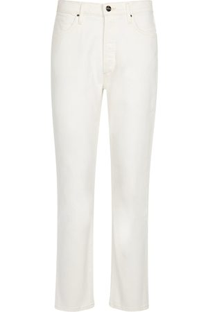 Goldsign High-rise straight jeans
