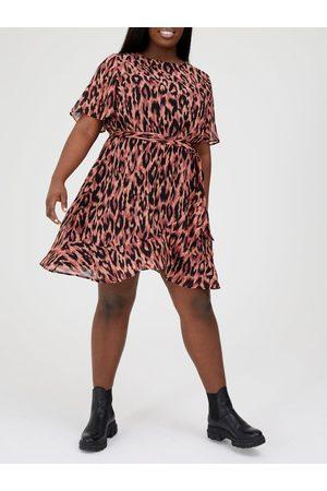 Very Wrap Skirt Woven Tea Dress