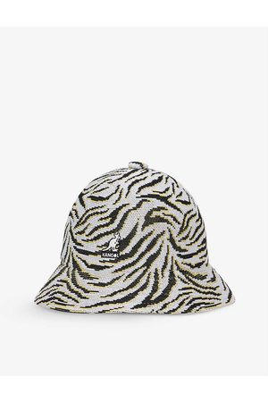 Kangol Carnival Casual abstract-print knitted bucket hat