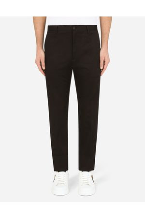 Dolce & Gabbana Trousers and Shorts - Wool and silk pants male 44