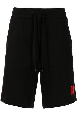 HUGO Men Sports Shorts - Logo patch track shorts