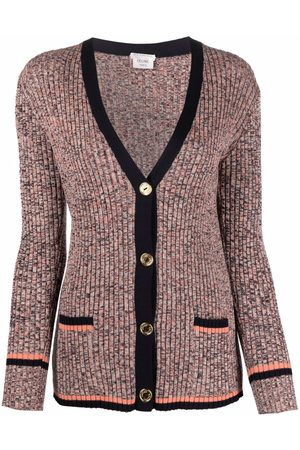 Céline Pre-Owned Pre-owned ribbed buttoned cardigan