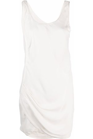 Helmut Lang Women Sleeveless Dresses - 2000s tulip hem sleeveless dress